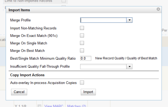 Nc cardinal cataloging best practice standards 25 the screen will refresh the queue summary indicates that the record was imported the import time column records the date that the record was imported fandeluxe Image collections